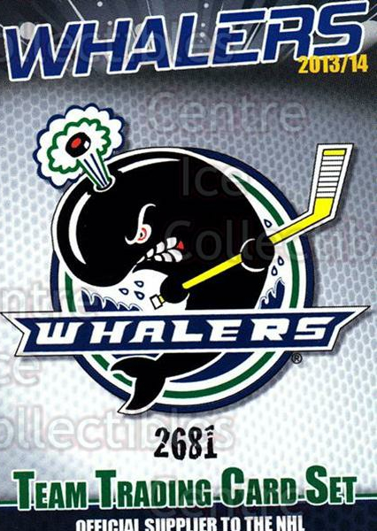 2013-14 Plymouth Whalers #32 Plymouth Whalers, Header Card<br/>6 In Stock - $3.00 each - <a href=https://centericecollectibles.foxycart.com/cart?name=2013-14%20Plymouth%20Whalers%20%2332%20Plymouth%20Whaler...&price=$3.00&code=600858 class=foxycart> Buy it now! </a>