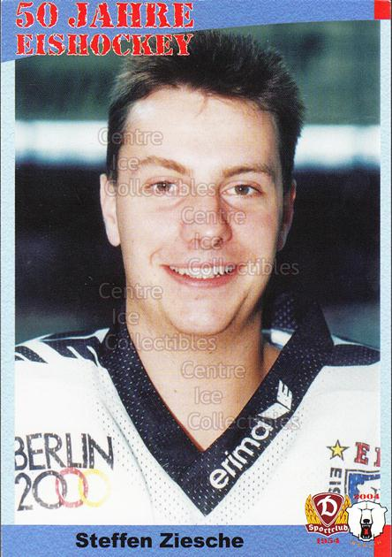 2004-05 German 50 years SC Dynamo Eisbaren Berlin #72 Steffen Ziesche<br/>1 In Stock - $3.00 each - <a href=https://centericecollectibles.foxycart.com/cart?name=2004-05%20German%2050%20years%20SC%20Dynamo%20Eisbaren%20Berlin%20%2372%20Steffen%20Ziesche...&quantity_max=1&price=$3.00&code=600985 class=foxycart> Buy it now! </a>
