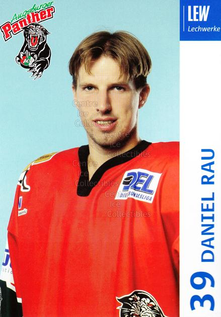 2003-04 German Augsburg Panthers Postcards #19 Daniel Rau<br/>1 In Stock - $3.00 each - <a href=https://centericecollectibles.foxycart.com/cart?name=2003-04%20German%20Augsburg%20Panthers%20Postcards%20%2319%20Daniel%20Rau...&quantity_max=1&price=$3.00&code=601335 class=foxycart> Buy it now! </a>