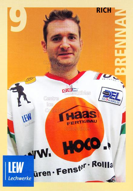 2004-05 German Augsburg Panthers Postcards #5 Rich Brennan<br/>1 In Stock - $3.00 each - <a href=https://centericecollectibles.foxycart.com/cart?name=2004-05%20German%20Augsburg%20Panthers%20Postcards%20%235%20Rich%20Brennan...&quantity_max=1&price=$3.00&code=601343 class=foxycart> Buy it now! </a>