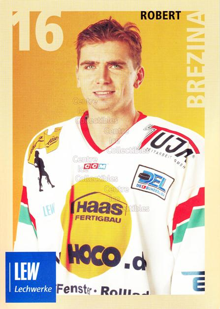 2004-05 German Augsburg Panthers Postcards #6 Robert Brezina<br/>1 In Stock - $3.00 each - <a href=https://centericecollectibles.foxycart.com/cart?name=2004-05%20German%20Augsburg%20Panthers%20Postcards%20%236%20Robert%20Brezina...&quantity_max=1&price=$3.00&code=601344 class=foxycart> Buy it now! </a>