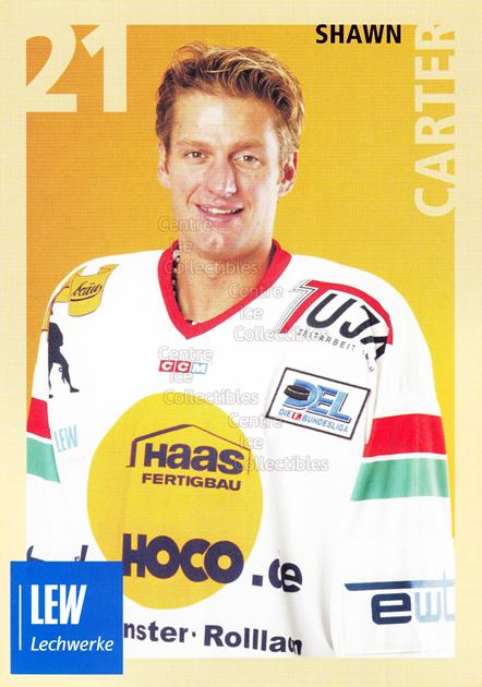 2004-05 German Augsburg Panthers Postcards #9 Shawn Carter<br/>1 In Stock - $3.00 each - <a href=https://centericecollectibles.foxycart.com/cart?name=2004-05%20German%20Augsburg%20Panthers%20Postcards%20%239%20Shawn%20Carter...&quantity_max=1&price=$3.00&code=601347 class=foxycart> Buy it now! </a>