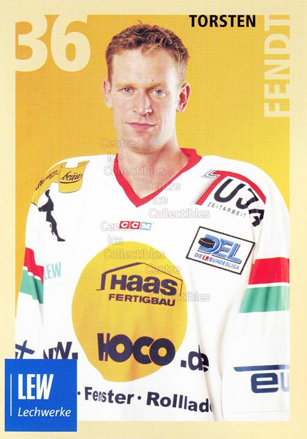 2004-05 German Augsburg Panthers Postcards #13 Torsten Fendt<br/>1 In Stock - $3.00 each - <a href=https://centericecollectibles.foxycart.com/cart?name=2004-05%20German%20Augsburg%20Panthers%20Postcards%20%2313%20Torsten%20Fendt...&quantity_max=1&price=$3.00&code=601351 class=foxycart> Buy it now! </a>