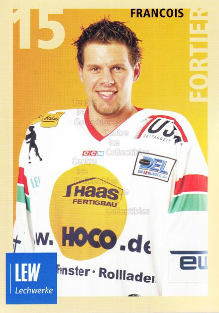 2004-05 German Augsburg Panthers Postcards #14 Francois Fortier<br/>1 In Stock - $3.00 each - <a href=https://centericecollectibles.foxycart.com/cart?name=2004-05%20German%20Augsburg%20Panthers%20Postcards%20%2314%20Francois%20Fortie...&quantity_max=1&price=$3.00&code=601352 class=foxycart> Buy it now! </a>