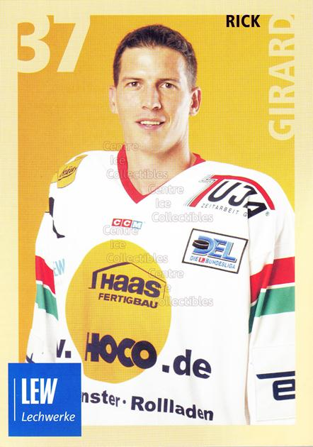 2004-05 German Augsburg Panthers Postcards #15 Rick Girard<br/>1 In Stock - $3.00 each - <a href=https://centericecollectibles.foxycart.com/cart?name=2004-05%20German%20Augsburg%20Panthers%20Postcards%20%2315%20Rick%20Girard...&quantity_max=1&price=$3.00&code=601353 class=foxycart> Buy it now! </a>