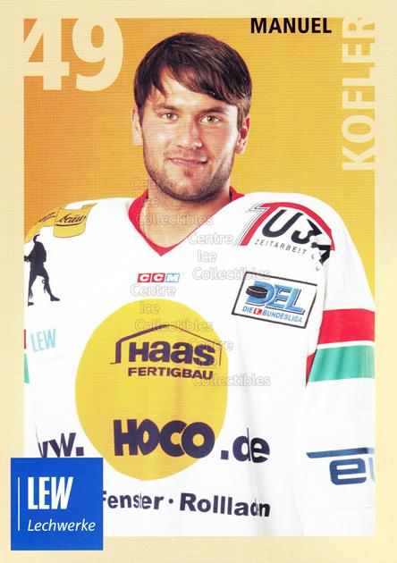 2004-05 German Augsburg Panthers Postcards #16 Manuel Kofler<br/>1 In Stock - $3.00 each - <a href=https://centericecollectibles.foxycart.com/cart?name=2004-05%20German%20Augsburg%20Panthers%20Postcards%20%2316%20Manuel%20Kofler...&quantity_max=1&price=$3.00&code=601354 class=foxycart> Buy it now! </a>