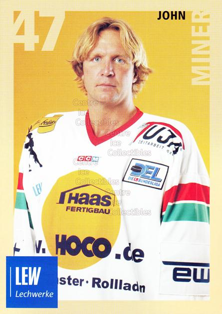 2004-05 German Augsburg Panthers Postcards #21 John Miner<br/>1 In Stock - $3.00 each - <a href=https://centericecollectibles.foxycart.com/cart?name=2004-05%20German%20Augsburg%20Panthers%20Postcards%20%2321%20John%20Miner...&quantity_max=1&price=$3.00&code=601359 class=foxycart> Buy it now! </a>