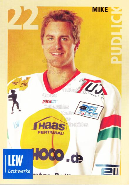 2004-05 German Augsburg Panthers Postcards #23 Mike Pudlick<br/>1 In Stock - $3.00 each - <a href=https://centericecollectibles.foxycart.com/cart?name=2004-05%20German%20Augsburg%20Panthers%20Postcards%20%2323%20Mike%20Pudlick...&quantity_max=1&price=$3.00&code=601361 class=foxycart> Buy it now! </a>