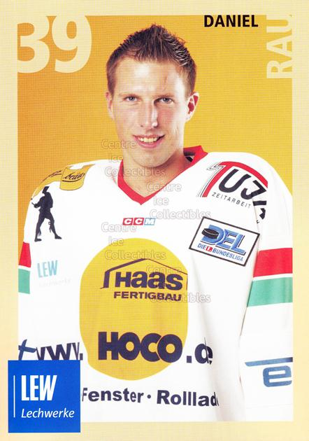 2004-05 German Augsburg Panthers Postcards #24 Daniel Rau<br/>1 In Stock - $3.00 each - <a href=https://centericecollectibles.foxycart.com/cart?name=2004-05%20German%20Augsburg%20Panthers%20Postcards%20%2324%20Daniel%20Rau...&quantity_max=1&price=$3.00&code=601362 class=foxycart> Buy it now! </a>