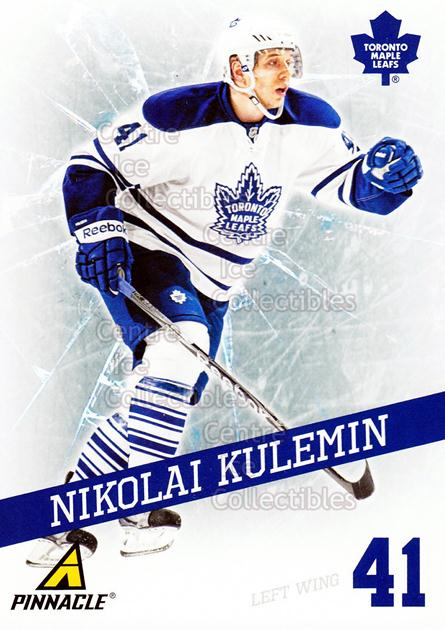 2011-12 Pinnacle Breakthrough #11 Nikolai Kulemin<br/>2 In Stock - $2.00 each - <a href=https://centericecollectibles.foxycart.com/cart?name=2011-12%20Pinnacle%20Breakthrough%20%2311%20Nikolai%20Kulemin...&quantity_max=2&price=$2.00&code=601446 class=foxycart> Buy it now! </a>