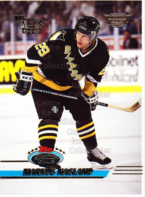 1993-94 Stadium Club Members Only Proof #393 Markus Naslund<br/>1 In Stock - $10.00 each - <a href=https://centericecollectibles.foxycart.com/cart?name=1993-94%20Stadium%20Club%20Members%20Only%20Proof%20%23393%20Markus%20Naslund...&quantity_max=1&price=$10.00&code=601613 class=foxycart> Buy it now! </a>
