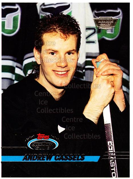 1993-94 Stadium Club Members Only Proof #74 Andrew Cassels<br/>1 In Stock - $10.00 each - <a href=https://centericecollectibles.foxycart.com/cart?name=1993-94%20Stadium%20Club%20Members%20Only%20Proof%20%2374%20Andrew%20Cassels...&quantity_max=1&price=$10.00&code=601754 class=foxycart> Buy it now! </a>
