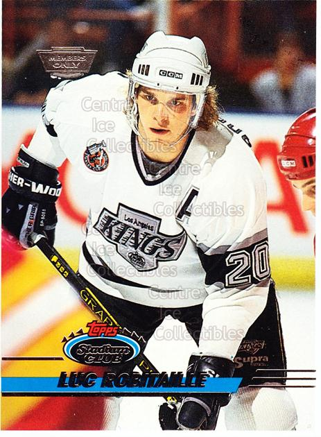 1993-94 Stadium Club Members Only Proof #87 Luc Robitaille<br/>1 In Stock - $10.00 each - <a href=https://centericecollectibles.foxycart.com/cart?name=1993-94%20Stadium%20Club%20Members%20Only%20Proof%20%2387%20Luc%20Robitaille...&quantity_max=1&price=$10.00&code=601768 class=foxycart> Buy it now! </a>