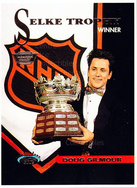 1993-94 Stadium Club Members Only Proof #149 Doug Gilmour<br/>1 In Stock - $10.00 each - <a href=https://centericecollectibles.foxycart.com/cart?name=1993-94%20Stadium%20Club%20Members%20Only%20Proof%20%23149%20Doug%20Gilmour...&quantity_max=1&price=$10.00&code=601830 class=foxycart> Buy it now! </a>