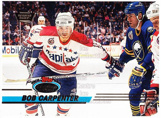 1993-94 Stadium Club Members Only Proof #175 Bob Carpenter<br/>1 In Stock - $10.00 each - <a href=https://centericecollectibles.foxycart.com/cart?name=1993-94%20Stadium%20Club%20Members%20Only%20Proof%20%23175%20Bob%20Carpenter...&quantity_max=1&price=$10.00&code=601859 class=foxycart> Buy it now! </a>