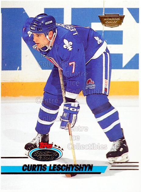 1993-94 Stadium Club Members Only Proof #336 Curtis Leschyshyn<br/>1 In Stock - $10.00 each - <a href=https://centericecollectibles.foxycart.com/cart?name=1993-94%20Stadium%20Club%20Members%20Only%20Proof%20%23336%20Curtis%20Leschysh...&quantity_max=1&price=$10.00&code=602030 class=foxycart> Buy it now! </a>