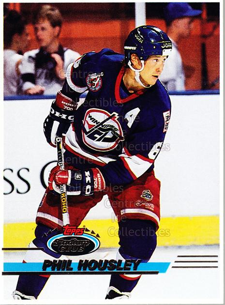 1993-94 Stadium Club OPC Proof #104 Phil Housley<br/>1 In Stock - $10.00 each - <a href=https://centericecollectibles.foxycart.com/cart?name=1993-94%20Stadium%20Club%20OPC%20Proof%20%23104%20Phil%20Housley...&quantity_max=1&price=$10.00&code=602312 class=foxycart> Buy it now! </a>