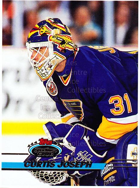 1993-94 Stadium Club OPC Proof #162 Curtis Joseph<br/>1 In Stock - $10.00 each - <a href=https://centericecollectibles.foxycart.com/cart?name=1993-94%20Stadium%20Club%20OPC%20Proof%20%23162%20Curtis%20Joseph...&quantity_max=1&price=$10.00&code=602370 class=foxycart> Buy it now! </a>