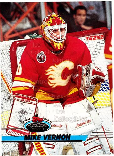 1993-94 Stadium Club Proof #319 Mike Vernon<br/>1 In Stock - $10.00 each - <a href=https://centericecollectibles.foxycart.com/cart?name=1993-94%20Stadium%20Club%20Proof%20%23319%20Mike%20Vernon...&quantity_max=1&price=$10.00&code=602471 class=foxycart> Buy it now! </a>