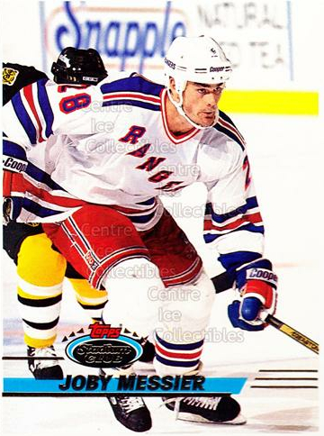 1993-94 Stadium Club Proof #339 Joby Messier<br/>1 In Stock - $10.00 each - <a href=https://centericecollectibles.foxycart.com/cart?name=1993-94%20Stadium%20Club%20Proof%20%23339%20Joby%20Messier...&quantity_max=1&price=$10.00&code=602492 class=foxycart> Buy it now! </a>