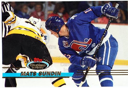 1993-94 Stadium Club Proof #370 Mats Sundin<br/>1 In Stock - $10.00 each - <a href=https://centericecollectibles.foxycart.com/cart?name=1993-94%20Stadium%20Club%20Proof%20%23370%20Mats%20Sundin...&quantity_max=1&price=$10.00&code=602524 class=foxycart> Buy it now! </a>