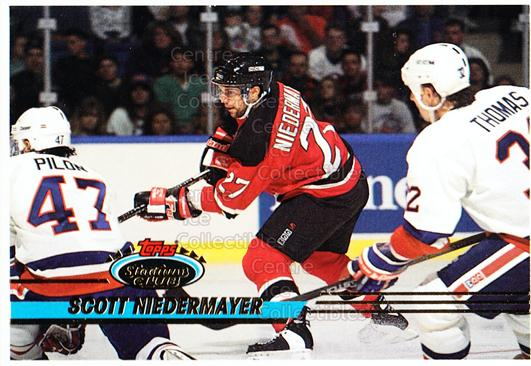 1993-94 Stadium Club Proof #403 Scott Niedermayer<br/>1 In Stock - $10.00 each - <a href=https://centericecollectibles.foxycart.com/cart?name=1993-94%20Stadium%20Club%20Proof%20%23403%20Scott%20Niedermay...&quantity_max=1&price=$10.00&code=602584 class=foxycart> Buy it now! </a>