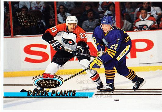 1993-94 Stadium Club Proof #491 Derek Plante<br/>1 In Stock - $10.00 each - <a href=https://centericecollectibles.foxycart.com/cart?name=1993-94%20Stadium%20Club%20Proof%20%23491%20Derek%20Plante...&quantity_max=1&price=$10.00&code=602678 class=foxycart> Buy it now! </a>