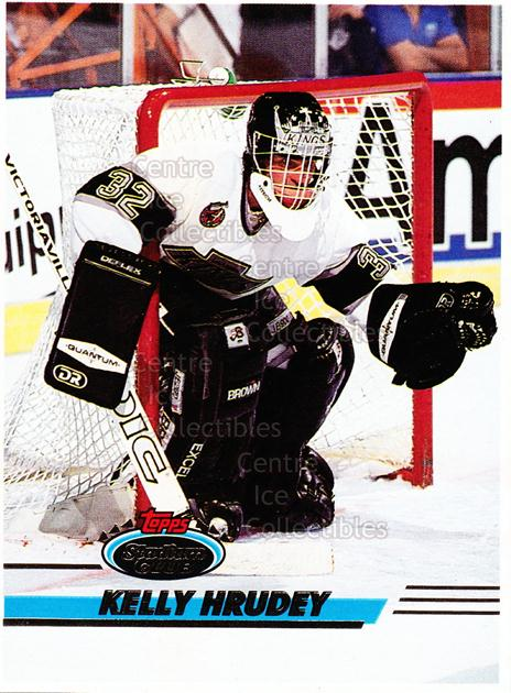 1993-94 Stadium Club Proof #54 Kelly Hrudey<br/>1 In Stock - $10.00 each - <a href=https://centericecollectibles.foxycart.com/cart?name=1993-94%20Stadium%20Club%20Proof%20%2354%20Kelly%20Hrudey...&quantity_max=1&price=$10.00&code=602693 class=foxycart> Buy it now! </a>