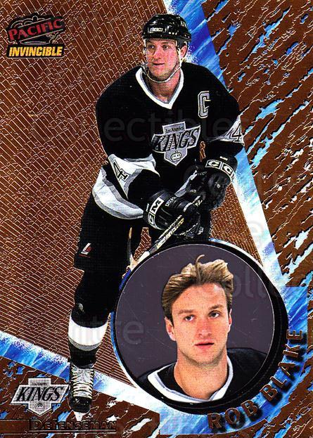 1997-98 Pacific Invincible #65 Rob Blake<br/>4 In Stock - $1.00 each - <a href=https://centericecollectibles.foxycart.com/cart?name=1997-98%20Pacific%20Invincible%20%2365%20Rob%20Blake...&quantity_max=4&price=$1.00&code=60271 class=foxycart> Buy it now! </a>