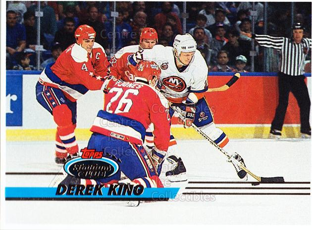 1993-94 Stadium Club Proof #215 Derek King<br/>1 In Stock - $10.00 each - <a href=https://centericecollectibles.foxycart.com/cart?name=1993-94%20Stadium%20Club%20Proof%20%23215%20Derek%20King...&quantity_max=1&price=$10.00&code=602858 class=foxycart> Buy it now! </a>