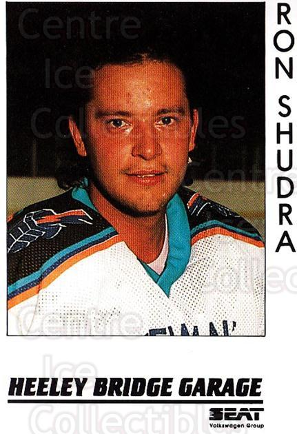 1995-96 UK British Elite Sheffield Steelers #9 Ron Shudra<br/>2 In Stock - $5.00 each - <a href=https://centericecollectibles.foxycart.com/cart?name=1995-96%20UK%20British%20Elite%20Sheffield%20Steelers%20%239%20Ron%20Shudra...&quantity_max=2&price=$5.00&code=603112 class=foxycart> Buy it now! </a>