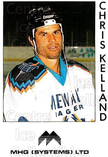1995-96 UK British Elite Sheffield Steelers #4 Chris Kelland<br/>2 In Stock - $3.00 each - <a href=https://centericecollectibles.foxycart.com/cart?name=1995-96%20UK%20British%20Elite%20Sheffield%20Steelers%20%234%20Chris%20Kelland...&quantity_max=2&price=$3.00&code=603120 class=foxycart> Buy it now! </a>