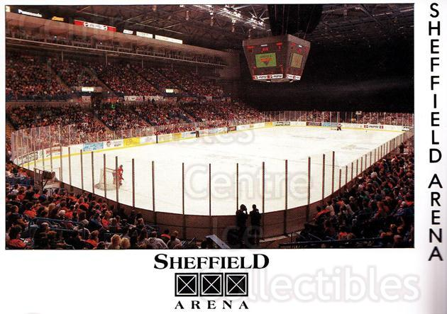 1995-96 UK British Elite Sheffield Steelers #16 Sheffield Arena<br/>1 In Stock - $3.00 each - <a href=https://centericecollectibles.foxycart.com/cart?name=1995-96%20UK%20British%20Elite%20Sheffield%20Steelers%20%2316%20Sheffield%20Arena...&quantity_max=1&price=$3.00&code=603124 class=foxycart> Buy it now! </a>
