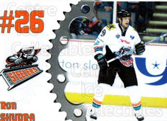 2005-06 UK British Elite Sheffield Steelers #3 Ron Shudra<br/>2 In Stock - $2.00 each - <a href=https://centericecollectibles.foxycart.com/cart?name=2005-06%20UK%20British%20Elite%20Sheffield%20Steelers%20%233%20Ron%20Shudra...&quantity_max=2&price=$2.00&code=603137 class=foxycart> Buy it now! </a>