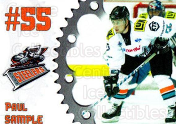2005-06 UK British Elite Sheffield Steelers #11 Paul Sample<br/>2 In Stock - $2.00 each - <a href=https://centericecollectibles.foxycart.com/cart?name=2005-06%20UK%20British%20Elite%20Sheffield%20Steelers%20%2311%20Paul%20Sample...&quantity_max=2&price=$2.00&code=603145 class=foxycart> Buy it now! </a>