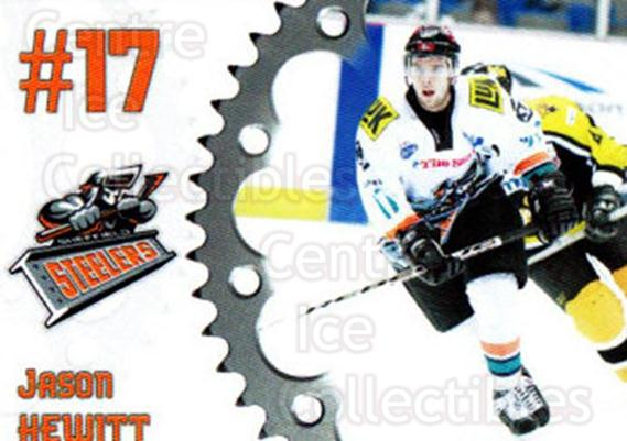 2005-06 UK British Elite Sheffield Steelers #17 Jason Hewitt<br/>1 In Stock - $2.00 each - <a href=https://centericecollectibles.foxycart.com/cart?name=2005-06%20UK%20British%20Elite%20Sheffield%20Steelers%20%2317%20Jason%20Hewitt...&quantity_max=1&price=$2.00&code=603151 class=foxycart> Buy it now! </a>