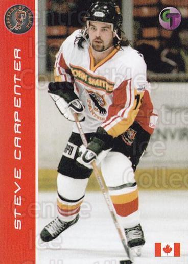 2004-05 UK British Elite Masters of the Ice Steve Carpenter #3 Steve Carpenter<br/>1 In Stock - $3.00 each - <a href=https://centericecollectibles.foxycart.com/cart?name=2004-05%20UK%20British%20Elite%20Masters%20of%20the%20Ice%20Steve%20Carpenter%20%233%20Steve%20Carpenter...&quantity_max=1&price=$3.00&code=603208 class=foxycart> Buy it now! </a>