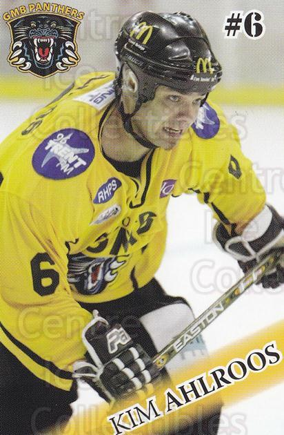 2004-05 UK British Elite Nottingham Panthers #2 Kim Ahlroos<br/>1 In Stock - $2.00 each - <a href=https://centericecollectibles.foxycart.com/cart?name=2004-05%20UK%20British%20Elite%20Nottingham%20Panthers%20%232%20Kim%20Ahlroos...&quantity_max=1&price=$2.00&code=603246 class=foxycart> Buy it now! </a>