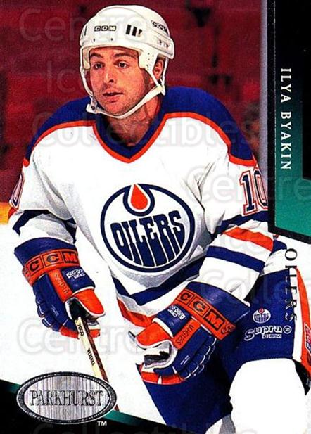 1993-94 Parkhurst #341 Ilya Byakin<br/>5 In Stock - $1.00 each - <a href=https://centericecollectibles.foxycart.com/cart?name=1993-94%20Parkhurst%20%23341%20Ilya%20Byakin...&quantity_max=5&price=$1.00&code=6033 class=foxycart> Buy it now! </a>