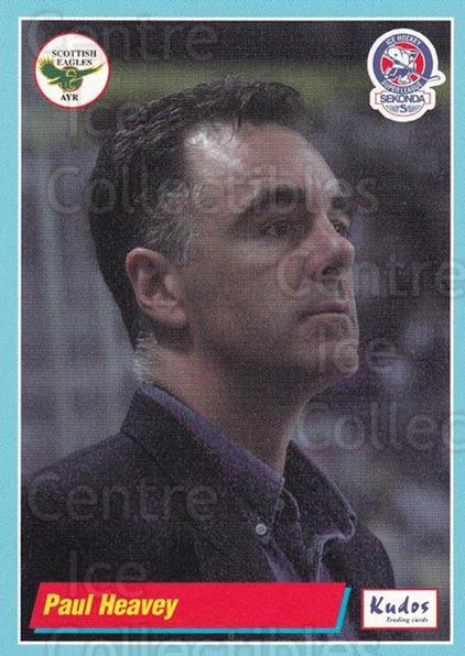 2000-01 UK British Elite Superleague #A02 Paul Heavey<br/>1 In Stock - $2.00 each - <a href=https://centericecollectibles.foxycart.com/cart?name=2000-01%20UK%20British%20Elite%20Superleague%20%23A02%20Paul%20Heavey...&quantity_max=1&price=$2.00&code=603536 class=foxycart> Buy it now! </a>
