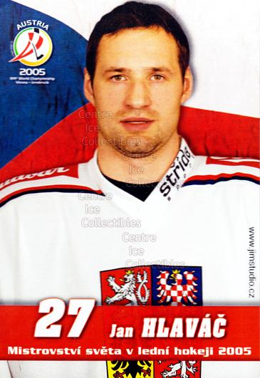 2005-06 Czech World Championship Portraits Postcards #6 Jan Hlavac<br/>1 In Stock - $3.00 each - <a href=https://centericecollectibles.foxycart.com/cart?name=2005-06%20Czech%20World%20Championship%20Portraits%20Postcards%20%236%20Jan%20Hlavac...&quantity_max=1&price=$3.00&code=603752 class=foxycart> Buy it now! </a>