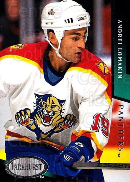 1993-94 Parkhurst #349 Andrei Lomakin<br/>5 In Stock - $1.00 each - <a href=https://centericecollectibles.foxycart.com/cart?name=1993-94%20Parkhurst%20%23349%20Andrei%20Lomakin...&quantity_max=5&price=$1.00&code=6037 class=foxycart> Buy it now! </a>