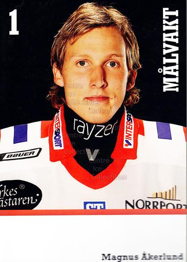 2008-09 Swedish Timra IK Red Eagles Postcards #1 Magnus Akerlund<br/>1 In Stock - $3.00 each - <a href=https://centericecollectibles.foxycart.com/cart?name=2008-09%20Swedish%20Timra%20IK%20Red%20Eagles%20Postcards%20%231%20Magnus%20Akerlund...&quantity_max=1&price=$3.00&code=603806 class=foxycart> Buy it now! </a>