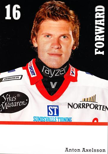 2008-09 Swedish Timra IK Red Eagles Postcards #4 Anton Axelsson<br/>1 In Stock - $3.00 each - <a href=https://centericecollectibles.foxycart.com/cart?name=2008-09%20Swedish%20Timra%20IK%20Red%20Eagles%20Postcards%20%234%20Anton%20Axelsson...&quantity_max=1&price=$3.00&code=603815 class=foxycart> Buy it now! </a>