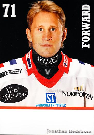 2008-09 Swedish Timra IK Red Eagles Postcards #8 Jonathan Hedstrom<br/>1 In Stock - $3.00 each - <a href=https://centericecollectibles.foxycart.com/cart?name=2008-09%20Swedish%20Timra%20IK%20Red%20Eagles%20Postcards%20%238%20Jonathan%20Hedstr...&quantity_max=1&price=$3.00&code=603828 class=foxycart> Buy it now! </a>