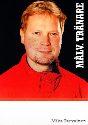2008-09 Swedish Timra IK Red Eagles Postcards #24 Mika Tarvainen<br/>1 In Stock - $3.00 each - <a href=https://centericecollectibles.foxycart.com/cart?name=2008-09%20Swedish%20Timra%20IK%20Red%20Eagles%20Postcards%20%2324%20Mika%20Tarvainen...&quantity_max=1&price=$3.00&code=603831 class=foxycart> Buy it now! </a>