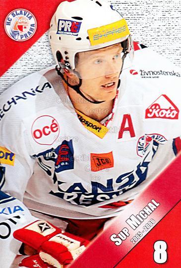 2005-06 Czech HC Slavia Praha Postcards #12 Michal Sup<br/>1 In Stock - $3.00 each - <a href=https://centericecollectibles.foxycart.com/cart?name=2005-06%20Czech%20HC%20Slavia%20Praha%20Postcards%20%2312%20Michal%20Sup...&price=$3.00&code=603851 class=foxycart> Buy it now! </a>
