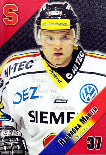 2005-06 Czech HC Sparta Praha Postcards #6 Martin Hlavacka<br/>1 In Stock - $3.00 each - <a href=https://centericecollectibles.foxycart.com/cart?name=2005-06%20Czech%20HC%20Sparta%20Praha%20Postcards%20%236%20Martin%20Hlavacka...&quantity_max=1&price=$3.00&code=603852 class=foxycart> Buy it now! </a>