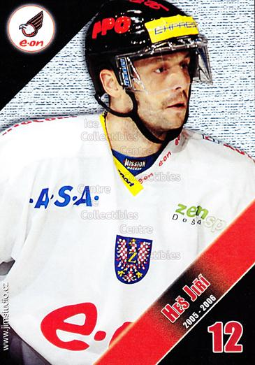 2005-06 Czech HC Znojemsti Orli Postcards #6 Jiri Hes<br/>2 In Stock - $3.00 each - <a href=https://centericecollectibles.foxycart.com/cart?name=2005-06%20Czech%20HC%20Znojemsti%20Orli%20Postcards%20%236%20Jiri%20Hes...&quantity_max=2&price=$3.00&code=603861 class=foxycart> Buy it now! </a>