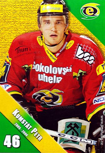 2005-06 Czech HC Energie Karlovy Vary #8 Petr Kumstat<br/>1 In Stock - $3.00 each - <a href=https://centericecollectibles.foxycart.com/cart?name=2005-06%20Czech%20HC%20Energie%20Karlovy%20Vary%20%238%20Petr%20Kumstat...&quantity_max=1&price=$3.00&code=603869 class=foxycart> Buy it now! </a>